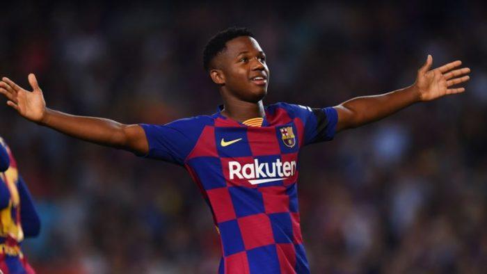Ansu Fati - Attaccante Barcellona