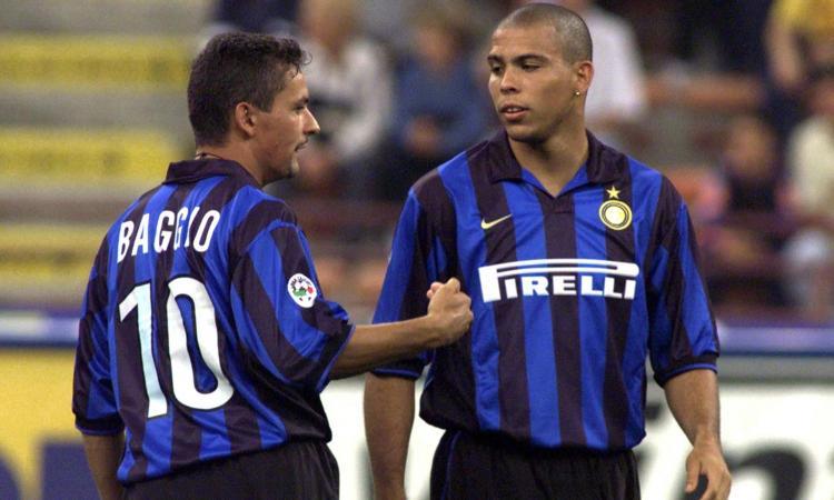 Attaccanti forti come Baggio e Ronaldo