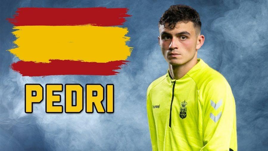 Pedri, talento del Barcellona