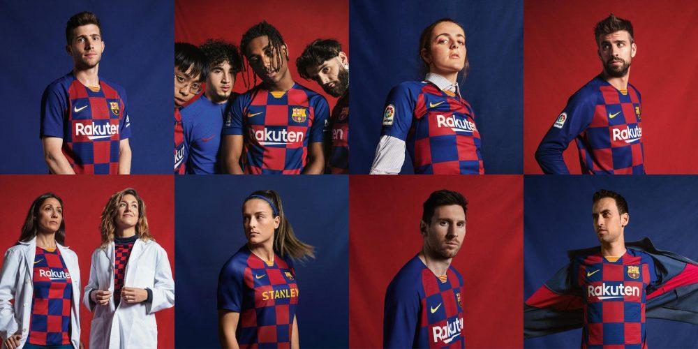 Divise ufficiali Barcellona 2019-2020