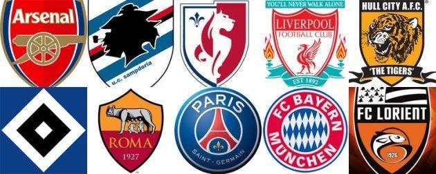 Stemmi e Loghi squadre di calcio