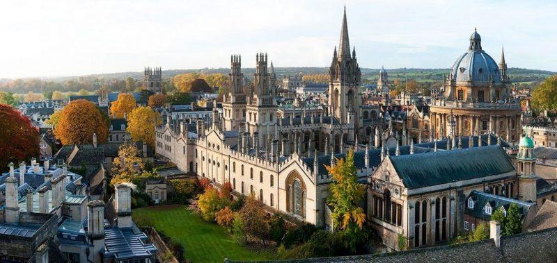 Università Oxford in Inghilterra