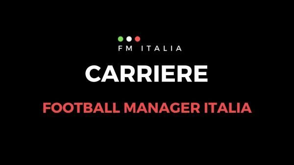 Sezione Carriere di Football Manager Italia