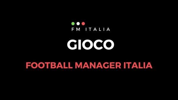 Sezione Gioco di Football Manager Italia