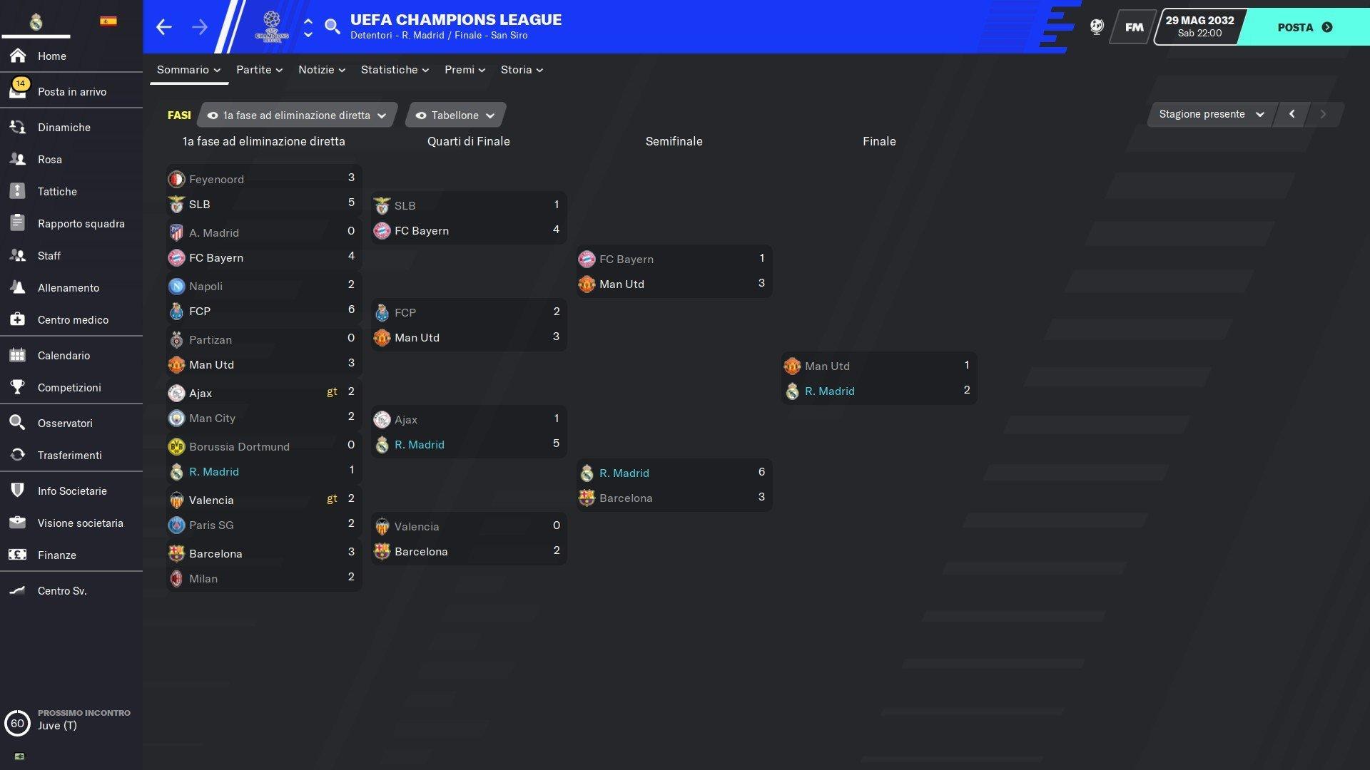 11b tabellone champions