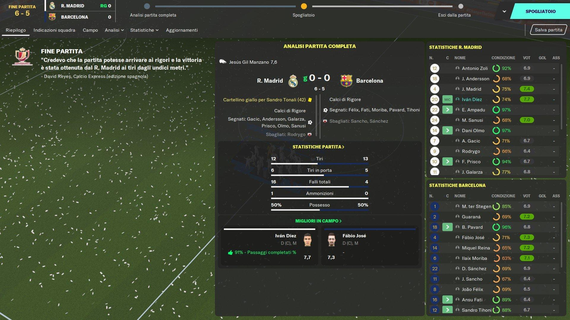 Finale Coppa del RE